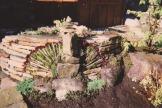 Aménagement avec pierres