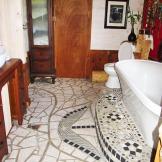 Salle de bain avec mosaique